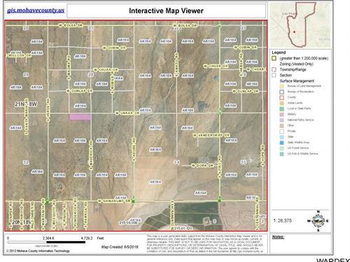 10.44 Acres Sun West Acres Golden : Golden Valley : Mohave County : Arizona