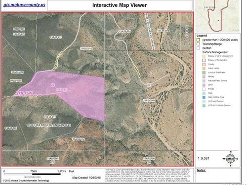 40 Acres Cedar Hill Ranches Kingman : Kingman : Mohave County : Arizona