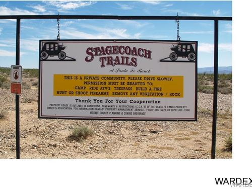 40 Acres, Stagecoach Trails, Yucca : Yucca : Mohave County : Arizona