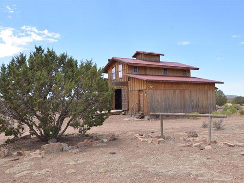 Mountain Cabin Owner Financing : Ash Fork : Yavapai County : Arizona