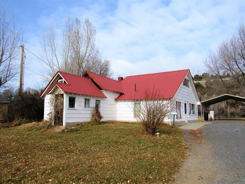 Charming Historic Farm House : Collbran : Mesa County : Colorado