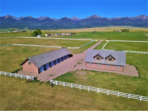 Stunningly Beautiful Horse Ranch : Westcliffe : Custer County : Colorado