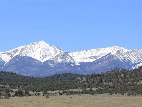 Land Historic Beckwith Mountain : Westcliffe : Custer County : Colorado