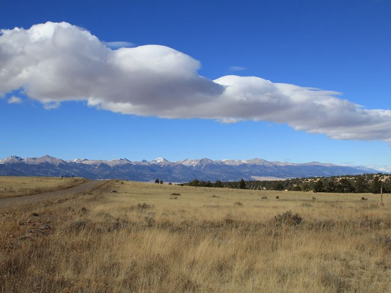 Land Views Sangre DE Cristo Mtns : Westcliffe : Custer County : Colorado