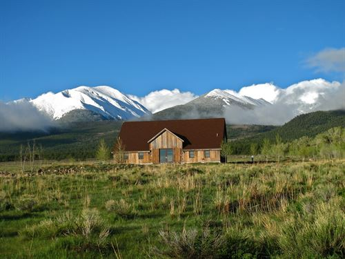 Reclaimed Barnwood Home Westcliffe : Westcliffe : Custer County : Colorado