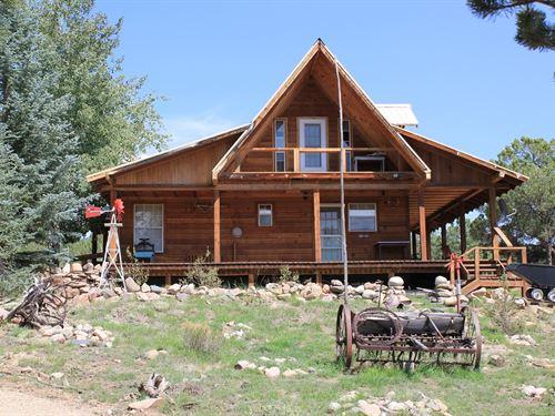 Cabin in Westcliffe Colorado : Westcliffe : Custer County : Colorado