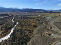Riverfront Mountain View Property : Ridgway : Ouray County : Colorado
