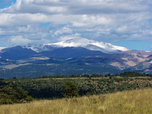 Colorado Mountain Ranch Views Pikes : Salida : Fremont County : Colorado
