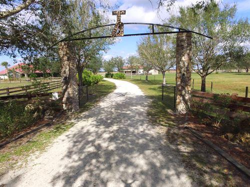 Beautiful Country Home Arcadia, Fl : Arcadia : Desoto County : Florida