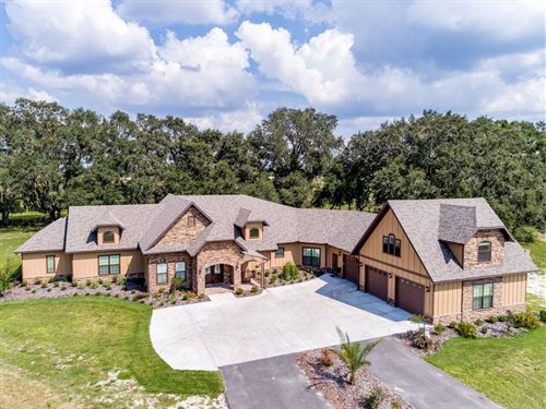 Luxury Country Estate South : Newberry : Alachua County : Florida