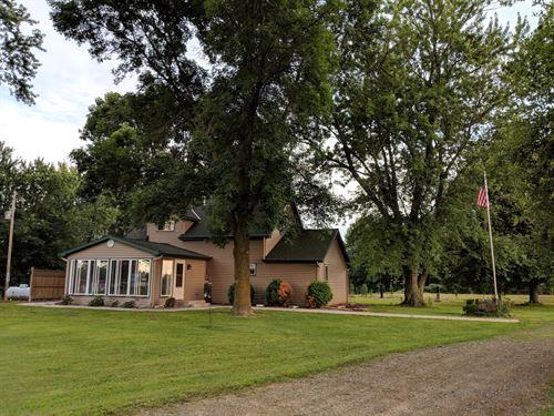 Country Home Acreage Ranch Hobby : Brook Park : Pine County : Minnesota