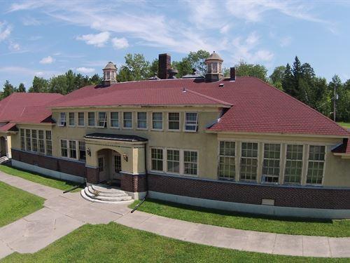 Historic Commercial Building : Angora : Saint Louis County : Minnesota
