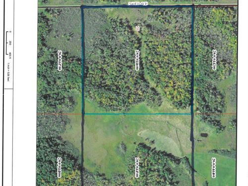80 Acres Wooded Hunting Land Aitkin : McGrath : Aitkin County : Minnesota