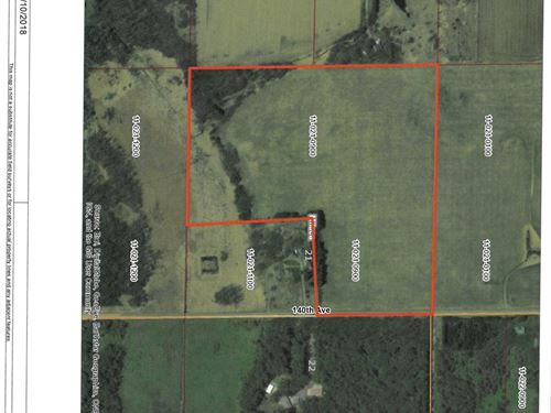 Mille Lacs Cty 32 Acres For Sale : Milaca : Mille Lacs County : Minnesota