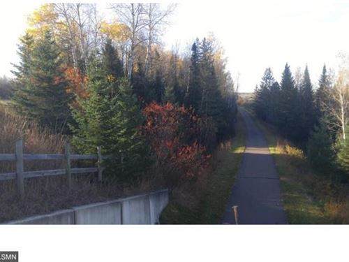 Wooded Buildable Acreage Hwy 61 : Mahtowa : Carlton County : Minnesota