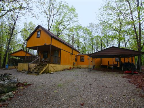 Fully Furnished Cabin in Ozarks : Alton : Oregon County : Missouri