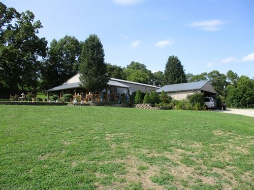 Home And 5 Acres in Ava, Missouri : Ava : Douglas County : Missouri