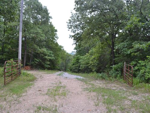 Land, Electric Site, Hunting : Brixey : Ozark County : Missouri