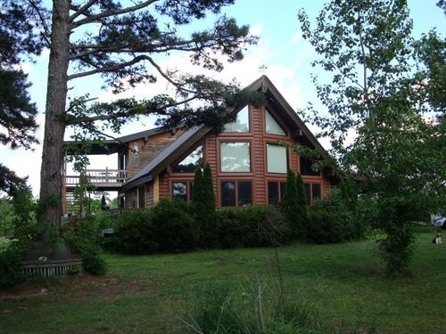 Log Home, 10 Acres, Private : Birch Tree : Shannon County : Missouri