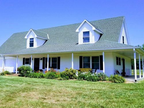 Missouri Country Home For Sale : Garden City : Cass County : Missouri