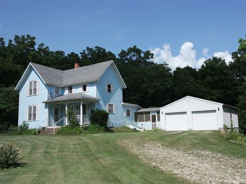 River Frontage Home Southern : Hartville : Wright County : Missouri