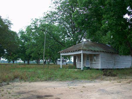 Large Southern Farmstead : Hawkinsville : Pulaski County : Georgia