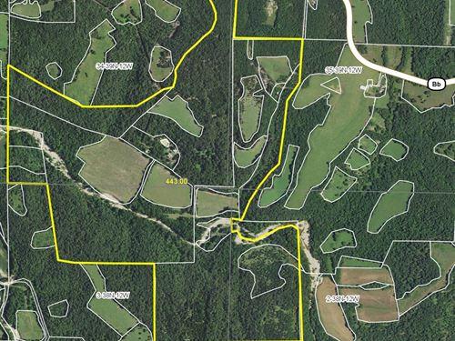 Farm, Marketable Timber Land & Home : Iberia : Miller County : Missouri