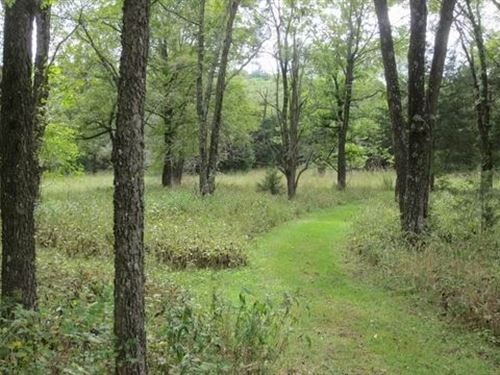 80 Acres, Hunting Cabin, Trail : Stockton : Saint Clair County : Missouri