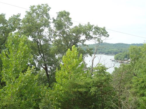5 Acres Lake View Lakefront Lot : Stover : Morgan County : Missouri