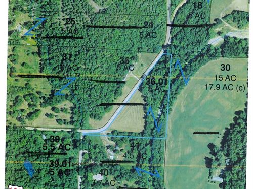 Theodosia, Mo, Land Bratten Spring : Theodosia : Ozark County : Missouri