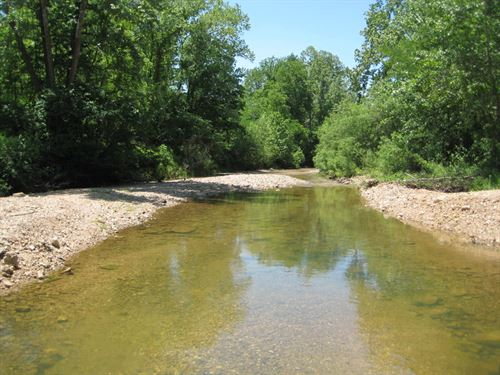 Land Live Creek, 10 Acres : Versailles : Morgan County : Missouri