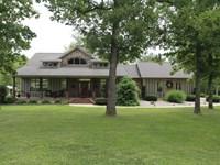 Custom Built Home Private Lake : West Plains : Howell County : Missouri