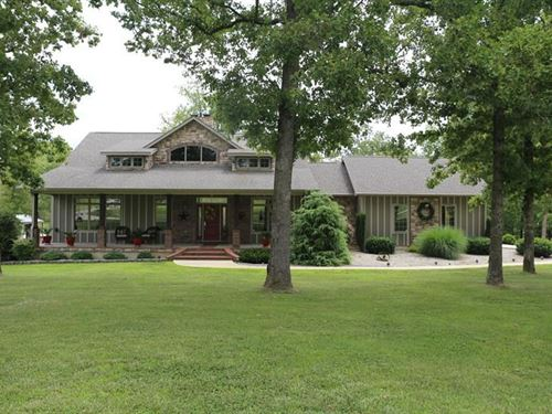 Custom Built Home Private Lake : West Plains : Howell County : Missouri