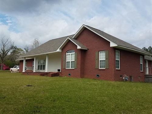 County Home 38.9 Acres Franklin : Bude : Franklin County : Mississippi