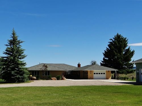 Lewistown Montana Horse Property : Lewistown : Fergus County : Montana