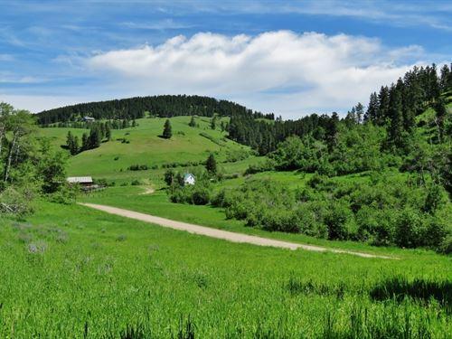 Lewistown Montana Mountain Ranch : Lewistown : Fergus County : Montana