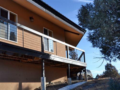 Great Mountain Property Custom Home : Chama : Rio Arriba County : New Mexico