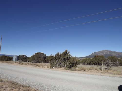 Residential 10 Ac Utility Access : Edgewood : Santa Fe County : New Mexico