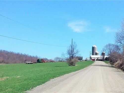 180 Acre Farm 1,524 Sq, Ft, Farm : Taylor : Cortland County : New York
