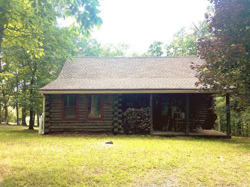Pennsylvania Log Home With Acres : Artemas : Bedford County : Pennsylvania