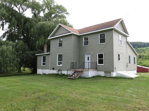 Tioga County PA Remodeled Farmhouse : Millerton : Tioga County : Pennsylvania