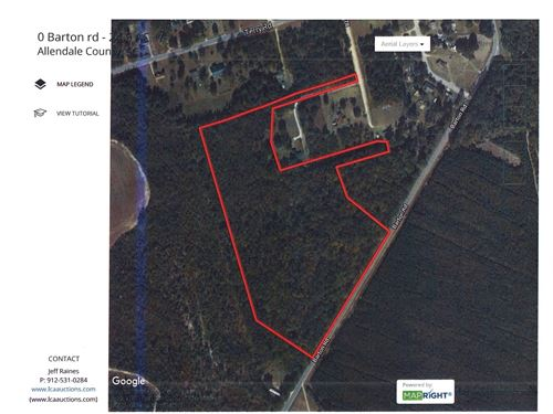 25 Acres Small Cypress Bay Fairfax : Fairfax : Allendale County : South Carolina