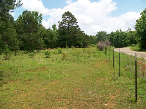 5Ac Tn Land Ready Country Home : Adamsville : McNairy County : Tennessee
