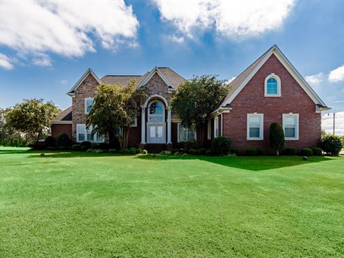 Executive Home, Acreage, Pool : Atwood : Carroll County : Tennessee