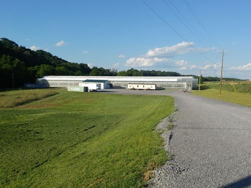 Greene County Greenhouse Equipment : Chuckey : Greene County : Tennessee