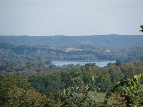 TN River View Land Ready To Build : Clifton : Hardin County : Tennessee