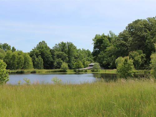 Private Lake Barn & Acreage Jackson : Jackson : Madison County : Tennessee