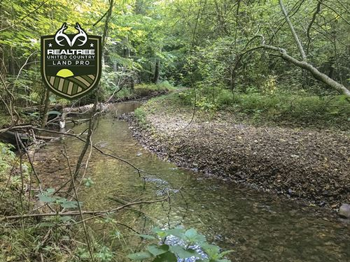 80 Rolling Acres Prime Hunting : Kelso : Lincoln County : Tennessee
