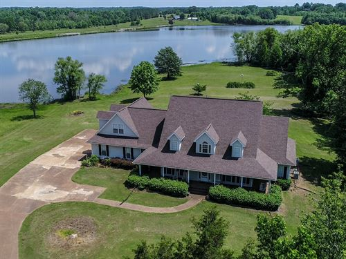 Lake Front Home Tn Acreage : Middleton : Hardeman County : Tennessee