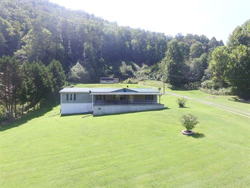 East Tennessee Home & Acreage : Rogersville : Hawkins County : Tennessee